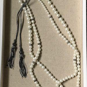 Stella & Dot Mara Pearl Necklace